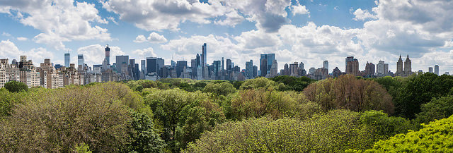 Vue sur Central Park et la skyline new-yorkaise
