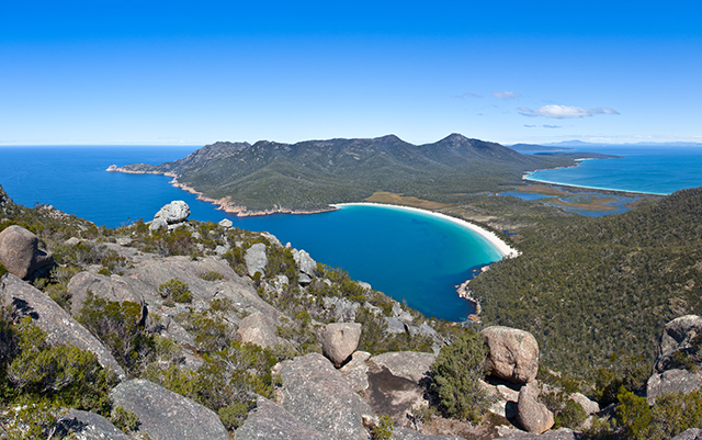 Wineglass bay, Australie